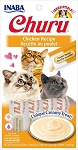 Inaba Churu Chicken Lickable Cat Treat, 0.5oz tube pack of 4